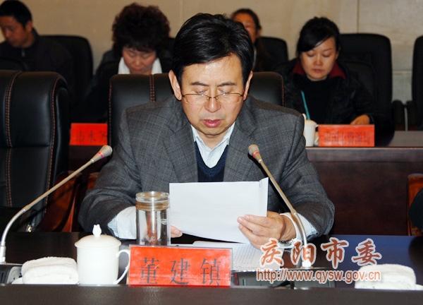 甘肃省人口委考核组考核庆阳人口计生工作