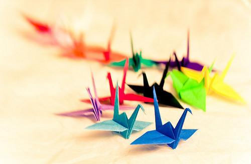 唯美 千纸鹤/1、你最喜欢的颜色系是……?