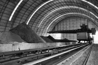 临洮三易水泥厂车间一角图片