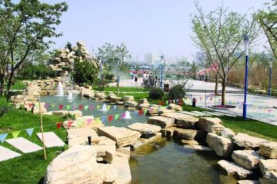 安宁生态文化园——小游园一景