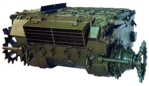兰马雷舍夫运输机械制造厂生产的使用6TD2发动机的坦克动力单元-图片