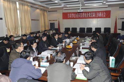 省公司县供电企业培训工作研讨会在技术学院召