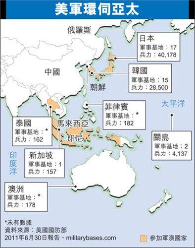 亚太最大规模多国军演将举行分析称意在威慑中国