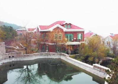 青岛神秘房主抛售12栋小产权别墅估价1亿
