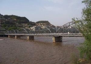 兰州黄河铁桥作文_【陇原记忆】兰州的桥母亲河上的永久印记(图)-陇原记忆-每日