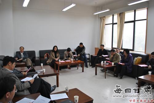 浙江理工大学到西北师范大学考察交流