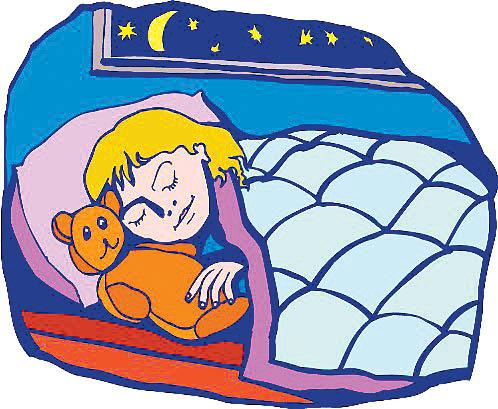 睡觉的儿童; 儿童矢量图; 卡通儿童 矢量人物