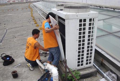 空调室外机加雪种步骤图解