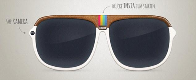 这款眼镜的设计理念来自google,olympus以及epson的高科技眼镜