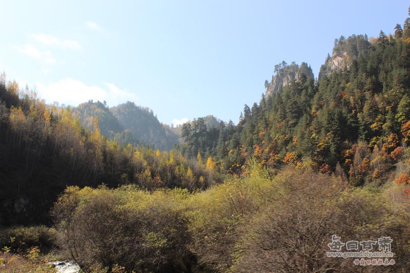 冶力关国家级森林公园秋色 苗文莉摄