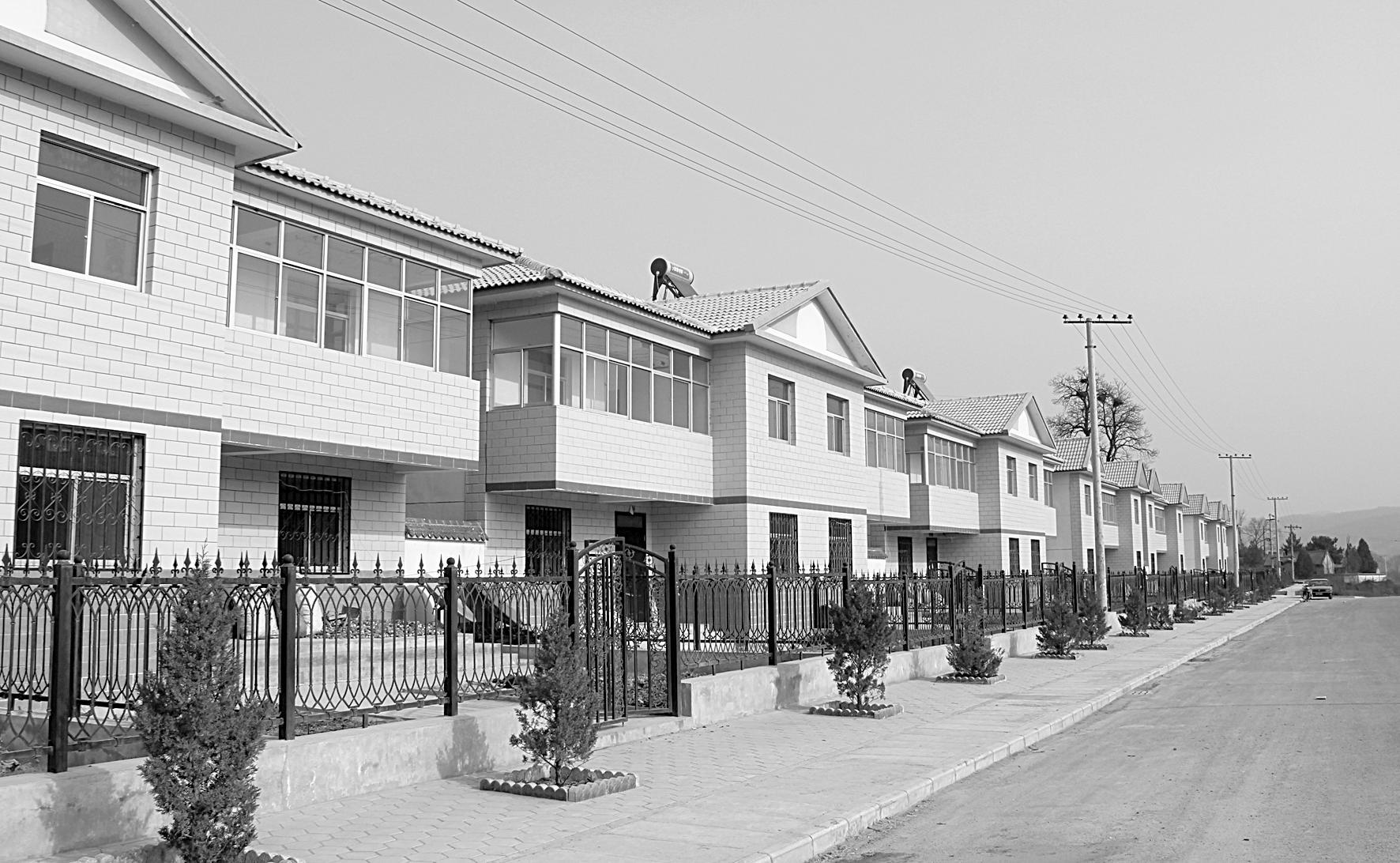 崇信县新农村建设
