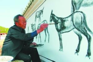 红川农民画:他们笔下诗意的水墨乡村-西部地理 ...