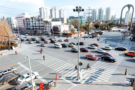 新式非机动车专用道亮相沈阳(图)-人行道|非机动车道