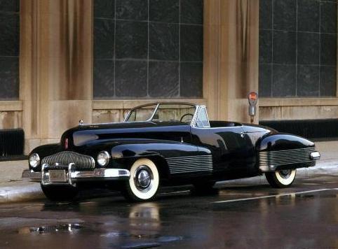 别克yjob是汽车工业界公认的世界第一辆概念车,它于1938年高清图片