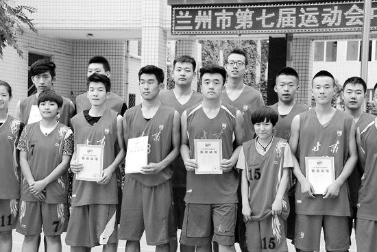 兰州市第七届运动会中学生篮球赛落幕 二中勇夺双冠