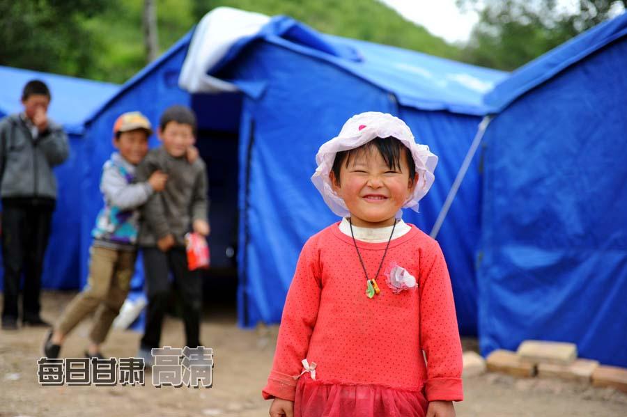 甘肃岷县漳县干部群众众志成城抗震救灾