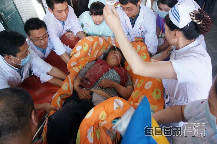 甘肃岷县漳县地震受灾群众生活得到保障