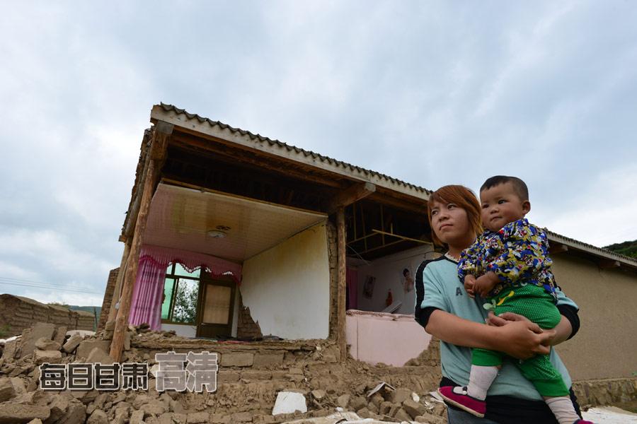 甘肃岷县漳县6.6级地震:家园之殇