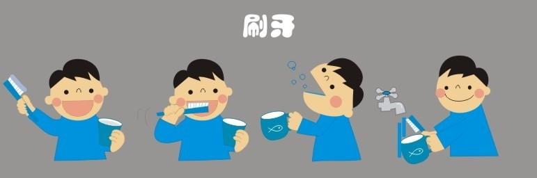 刷牙时不应用太大力气也是正确的,并非用越大力气才越能把牙齿刷