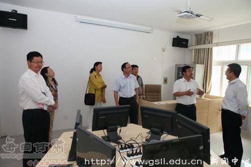 青海民族大学副校长马维胜一行来甘肃政法学院考察交流