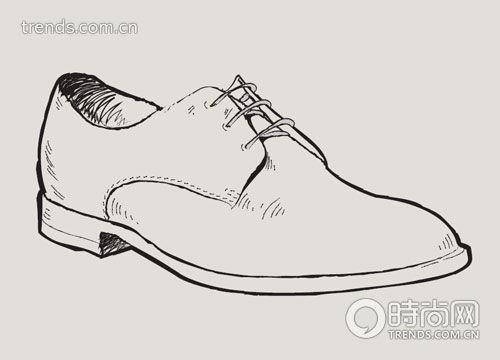鞋子设计简笔画