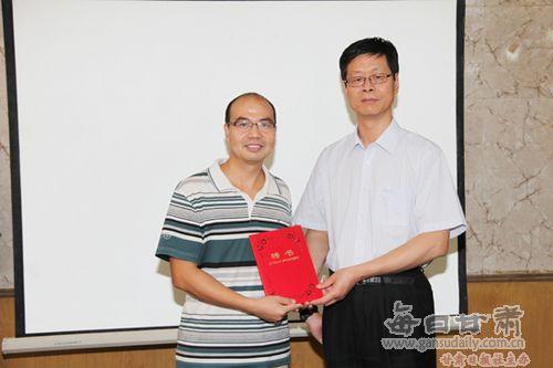 周口职业技术学院副院长李庶泉教授,河南师范大学社会事业学院的