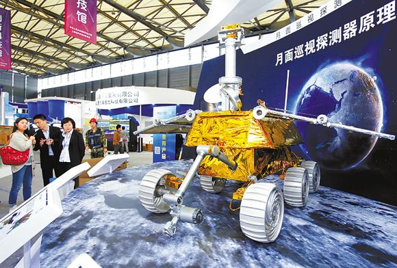 第15屆中國國際工博會航空航天技術展于11月5日開幕圖片