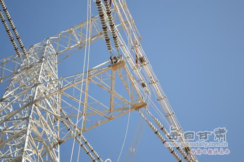 千伏输电线路基础工程完工