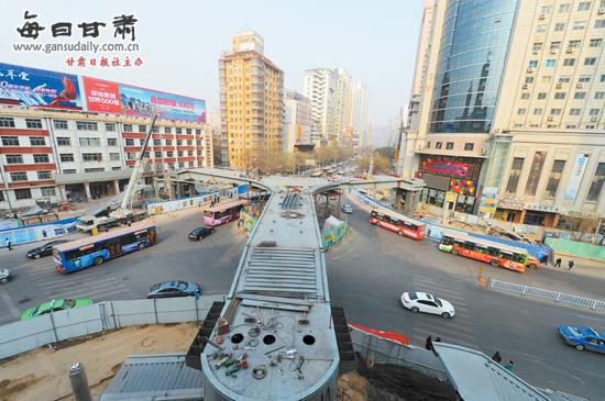 """甘肃陇南市政府_兰州""""上跨下穿""""工程 14座天桥11座完工投用-上跨下穿 天桥-每日 ..."""