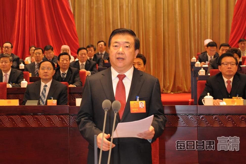 省委书记、省人大常委会主任王三运主持大会