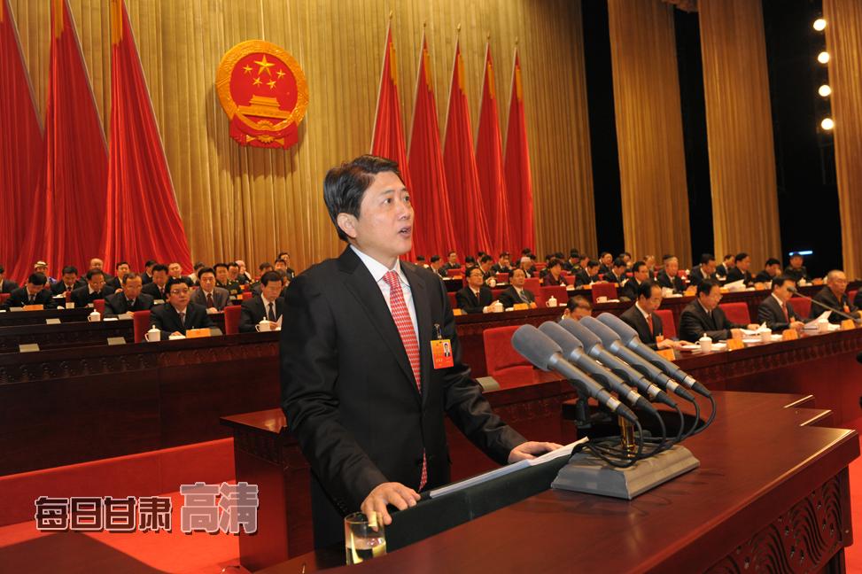 省委副书记、省长刘伟平作政府工作报告