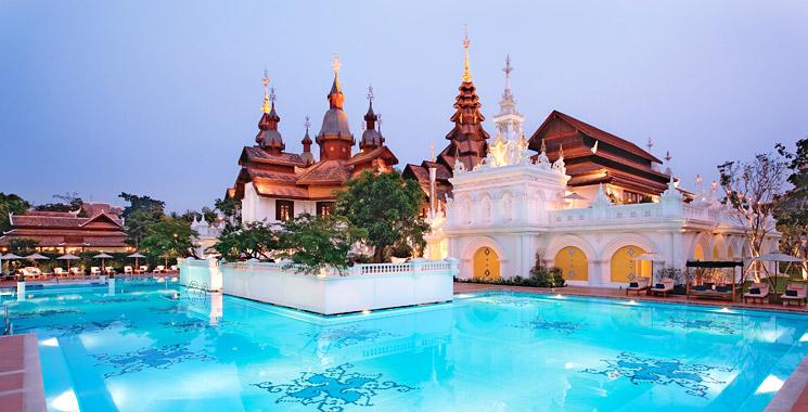 清迈黛兰塔维度假酒店(Dhara Dhevi Chiang Mai)