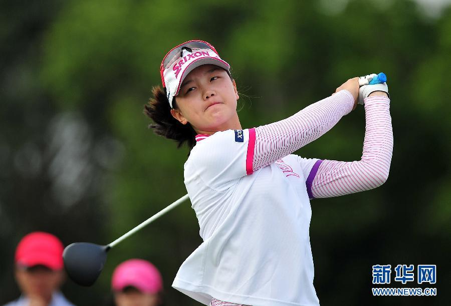 世界女子高尔夫锦标赛开赛(高清)