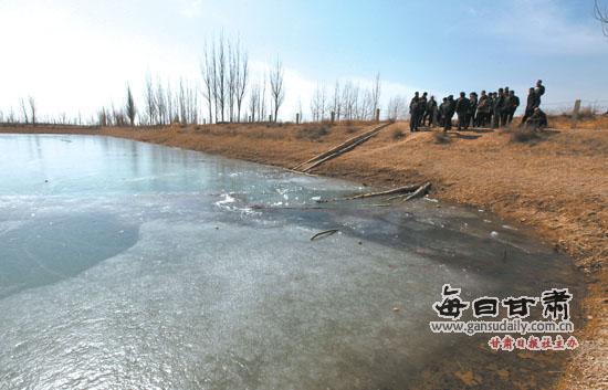 蓄水池溜冰 兰州市永登县两女孩不幸溺亡(图)
