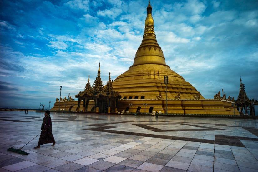 高清组图:体验缅甸风情-缅甸|风情-每日甘肃-旅游