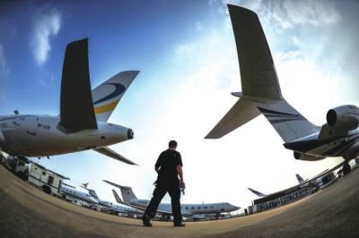 2014亚洲公务机展将在上海开幕-公务机|飞机-每日甘肃