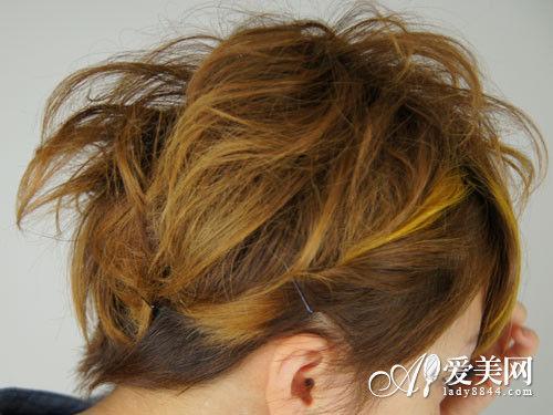短发发发型扎法图解五