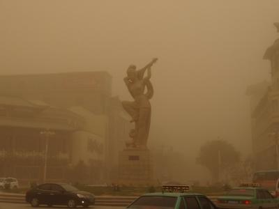 昨日敦煌机场两航班取消