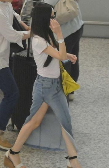 2013韩国素颜牛仔裤