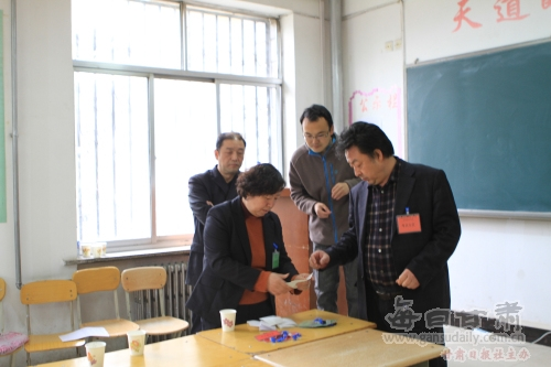 甘肃建筑职业技术学院首次单独招生考试顺利进行
