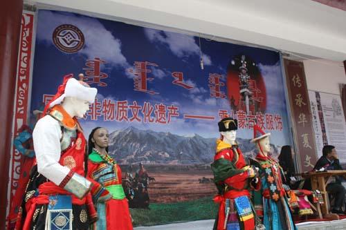 肃北设立雪山蒙古族服饰展厅