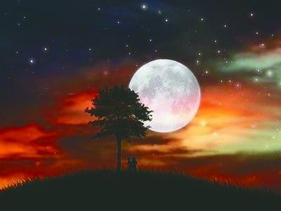 明月夜-月亮-每日甘肃-陇南日报