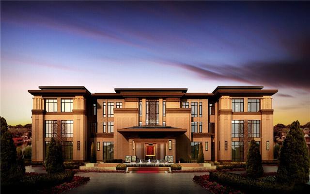 400平米一层别墅设计图