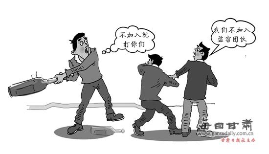 两聋哑青年拒绝入伙行窃 惨遭毒打 行窃 毒打 聋哑人