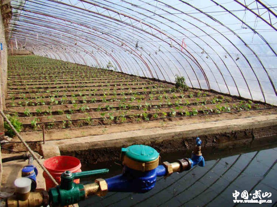 武山县小型农田水利节水灌溉进田间