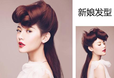 韩式新娘发型发饰点缀吸睛