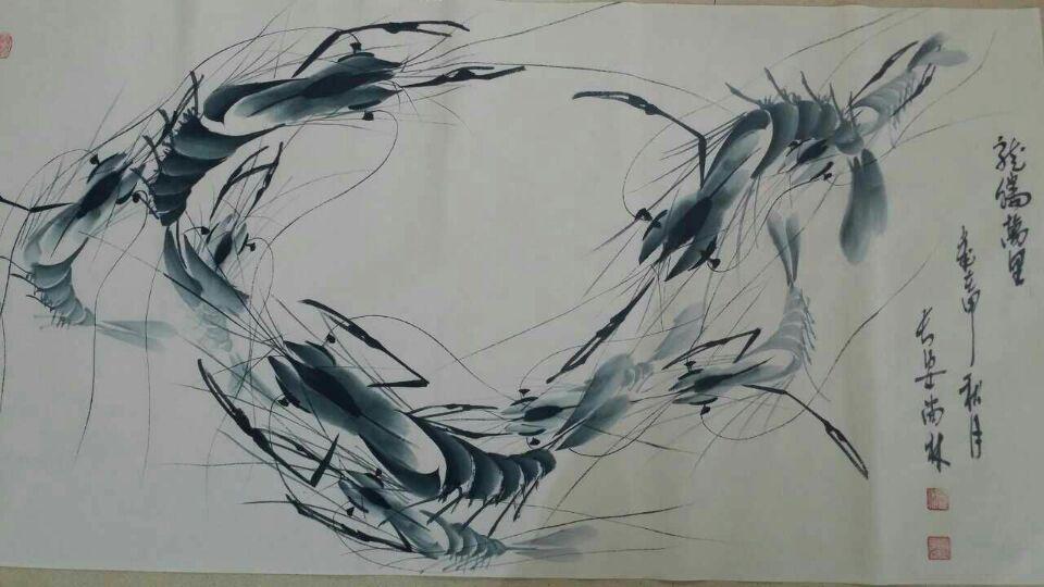 尚林当代画坛演绎舞虾艺术第一人做客书画中国