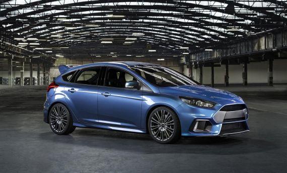 福特官方发布全新福克斯RS高清图片