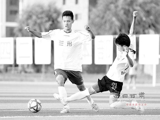 甘肃省足球联赛高中总决赛靖远二中进高中组校园代码咸阳图片