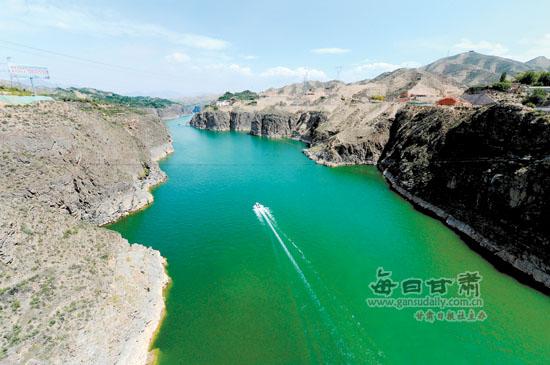 兰州第二水源地项目在永靖开建 明年底市民将吃上刘家峡优质水